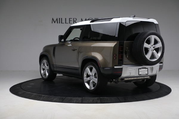 Used 2021 Land Rover Defender 90 First Edition for sale $69,900 at Pagani of Greenwich in Greenwich CT 06830 5