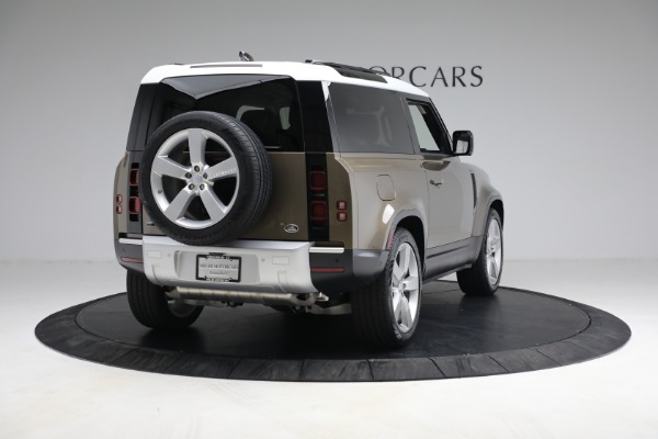 Used 2021 Land Rover Defender 90 First Edition for sale $69,900 at Pagani of Greenwich in Greenwich CT 06830 7