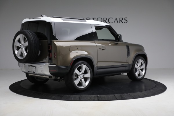 Used 2021 Land Rover Defender 90 First Edition for sale $69,900 at Pagani of Greenwich in Greenwich CT 06830 8