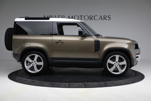 Used 2021 Land Rover Defender 90 First Edition for sale $69,900 at Pagani of Greenwich in Greenwich CT 06830 9