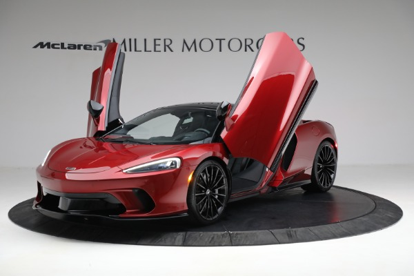 New 2021 McLaren GT for sale $217,275 at Pagani of Greenwich in Greenwich CT 06830 13