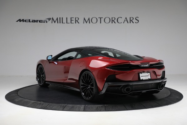 New 2021 McLaren GT for sale $217,275 at Pagani of Greenwich in Greenwich CT 06830 5