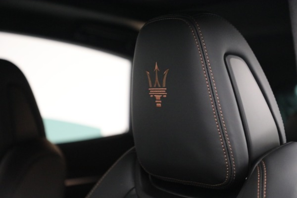 New 2021 Maserati Levante S GranSport for sale $105,849 at Pagani of Greenwich in Greenwich CT 06830 20