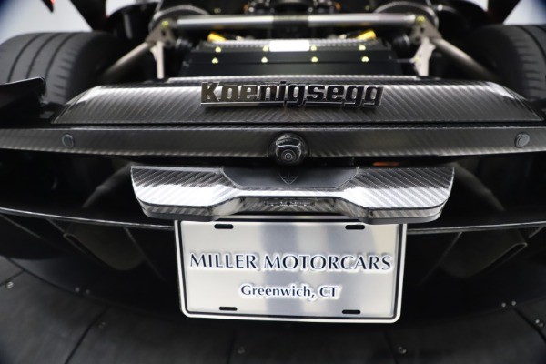 Used 2019 Koenigsegg Regera for sale Call for price at Pagani of Greenwich in Greenwich CT 06830 23