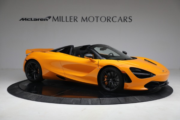 New 2021 McLaren 720S Spider for sale $378,110 at Pagani of Greenwich in Greenwich CT 06830 10