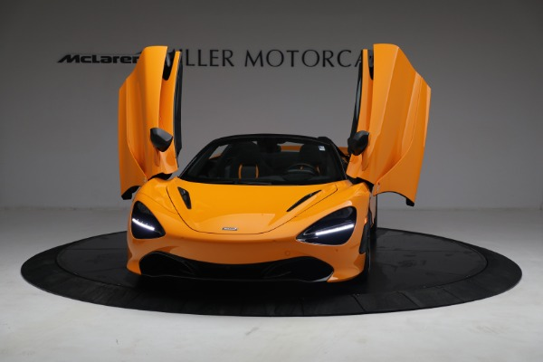 New 2021 McLaren 720S Spider for sale $378,110 at Pagani of Greenwich in Greenwich CT 06830 13