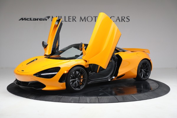 New 2021 McLaren 720S Spider for sale $378,110 at Pagani of Greenwich in Greenwich CT 06830 14