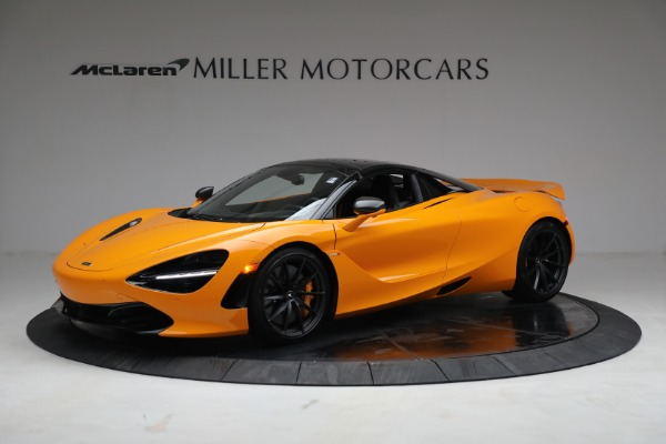 New 2021 McLaren 720S Spider for sale $378,110 at Pagani of Greenwich in Greenwich CT 06830 15
