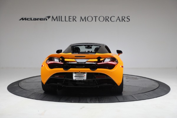 New 2021 McLaren 720S Spider for sale $378,110 at Pagani of Greenwich in Greenwich CT 06830 18