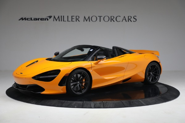 New 2021 McLaren 720S Spider for sale $378,110 at Pagani of Greenwich in Greenwich CT 06830 2
