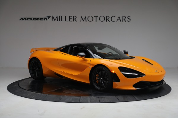 New 2021 McLaren 720S Spider for sale $378,110 at Pagani of Greenwich in Greenwich CT 06830 21