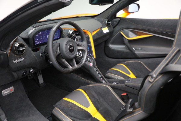 New 2021 McLaren 720S Spider for sale $378,110 at Pagani of Greenwich in Greenwich CT 06830 24