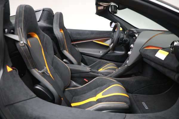 New 2021 McLaren 720S Spider for sale $378,110 at Pagani of Greenwich in Greenwich CT 06830 28