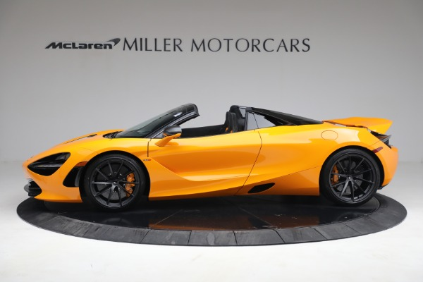 New 2021 McLaren 720S Spider for sale $378,110 at Pagani of Greenwich in Greenwich CT 06830 3