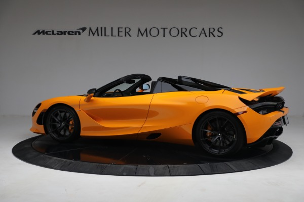 New 2021 McLaren 720S Spider for sale $378,110 at Pagani of Greenwich in Greenwich CT 06830 4