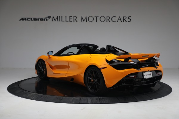 New 2021 McLaren 720S Spider for sale $378,110 at Pagani of Greenwich in Greenwich CT 06830 5
