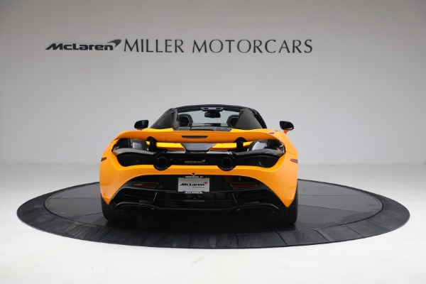 New 2021 McLaren 720S Spider for sale $378,110 at Pagani of Greenwich in Greenwich CT 06830 6