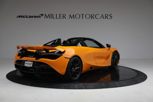 New 2021 McLaren 720S Spider for sale $378,110 at Pagani of Greenwich in Greenwich CT 06830 7
