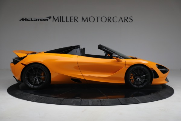 New 2021 McLaren 720S Spider for sale $378,110 at Pagani of Greenwich in Greenwich CT 06830 9