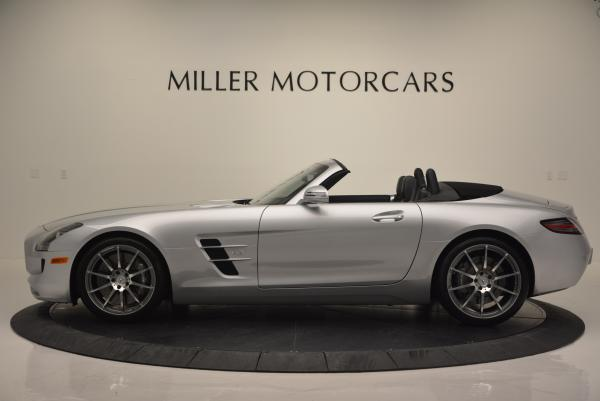 Used 2012 Mercedes Benz SLS AMG for sale Sold at Pagani of Greenwich in Greenwich CT 06830 3