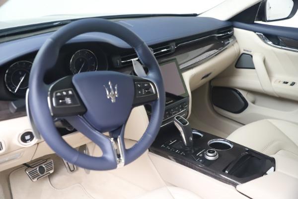 New 2021 Maserati Quattroporte S Q4 GranLusso for sale $126,149 at Pagani of Greenwich in Greenwich CT 06830 13