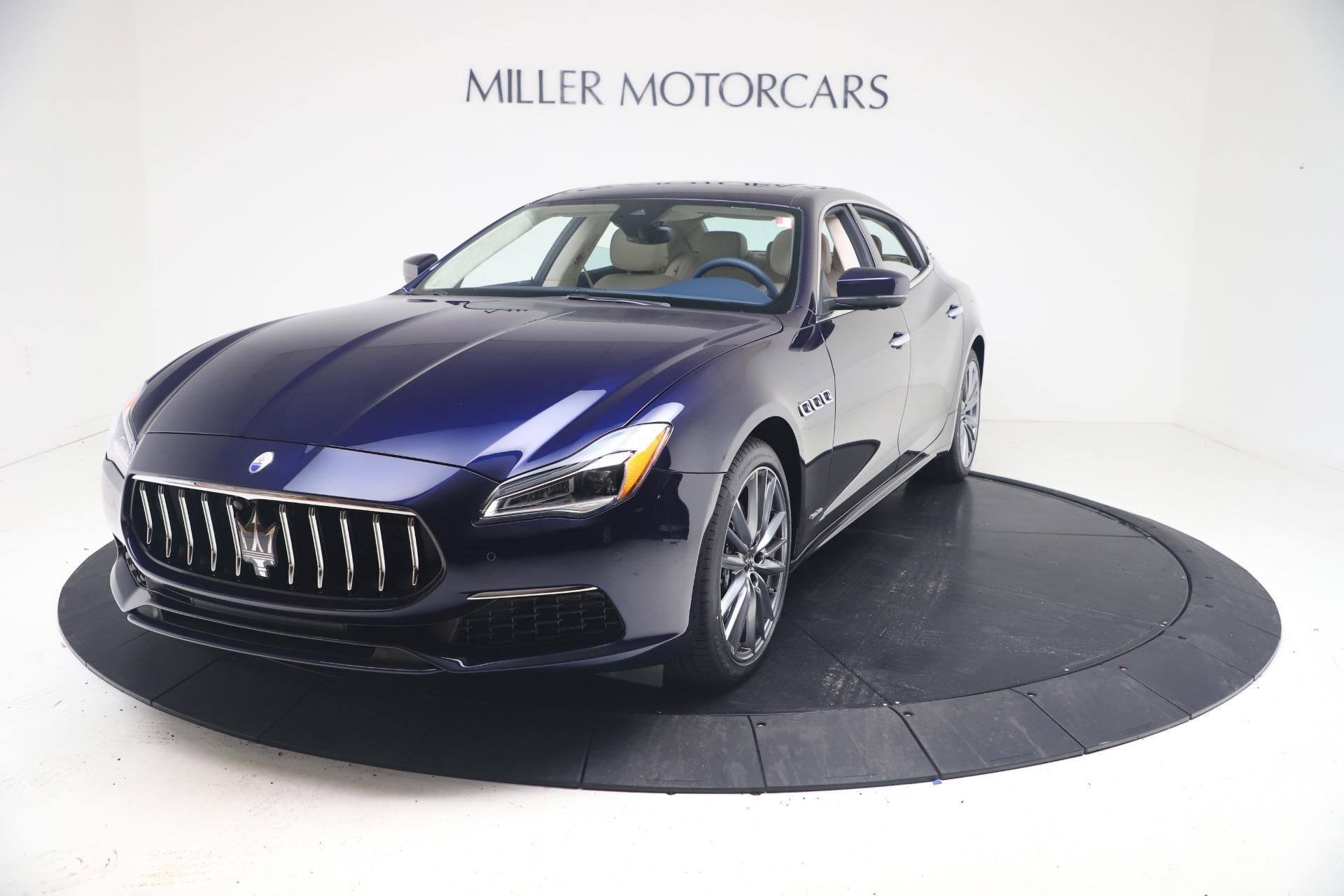 New 2021 Maserati Quattroporte S Q4 GranLusso for sale $126,149 at Pagani of Greenwich in Greenwich CT 06830 1