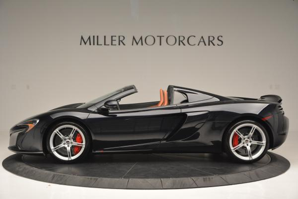 Used 2015 McLaren 650S Spider for sale Sold at Pagani of Greenwich in Greenwich CT 06830 3