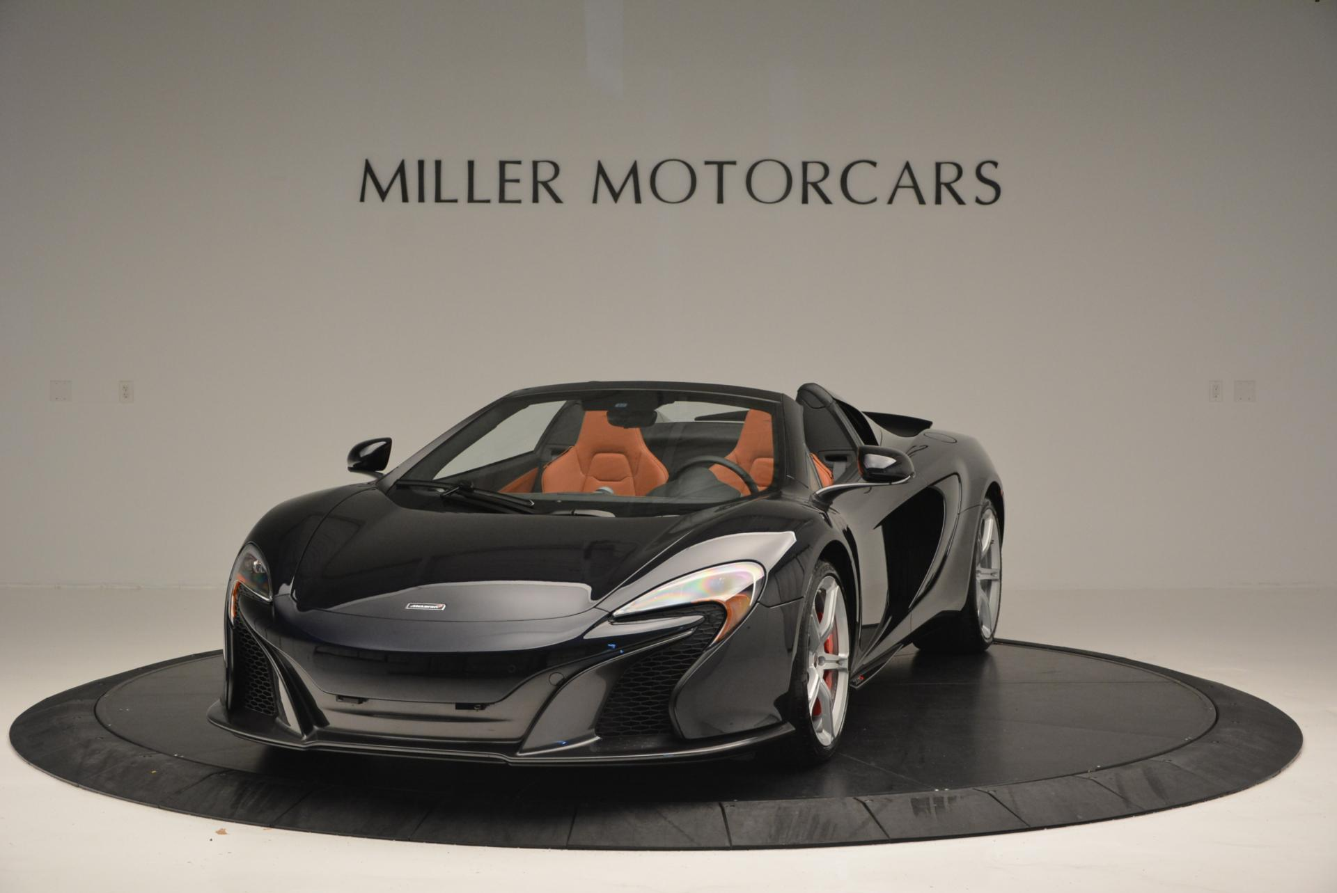 Used 2015 McLaren 650S Spider for sale Sold at Pagani of Greenwich in Greenwich CT 06830 1