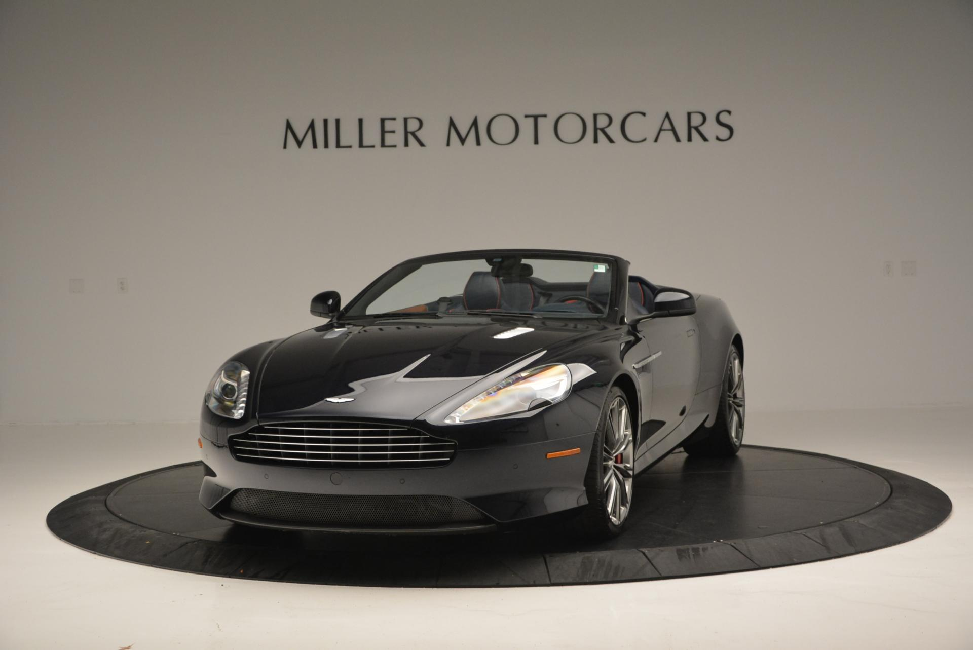 Used 2014 Aston Martin DB9 Volante for sale Sold at Pagani of Greenwich in Greenwich CT 06830 1