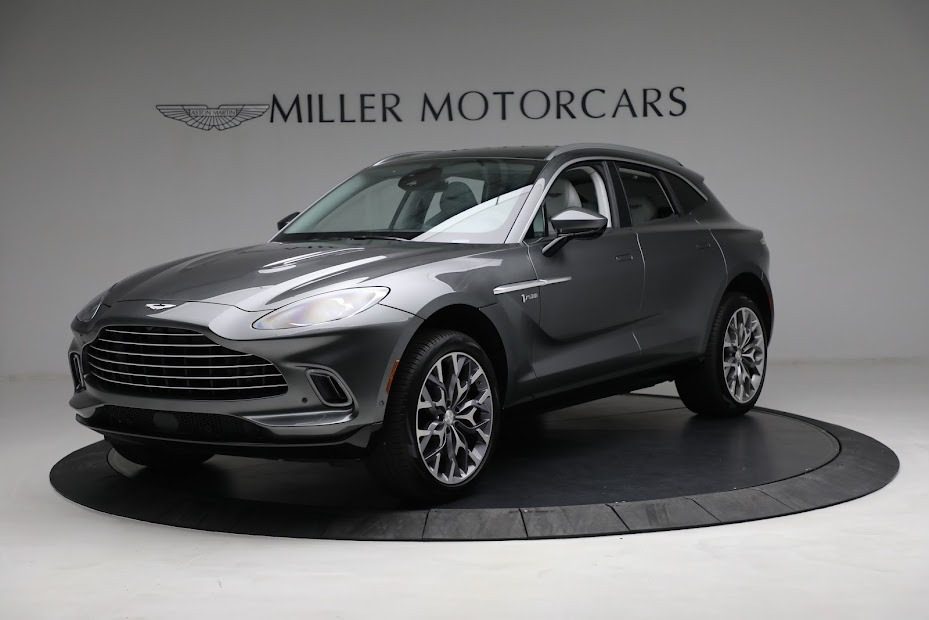 Used 2021 Aston Martin DBX for sale Sold at Pagani of Greenwich in Greenwich CT 06830 1