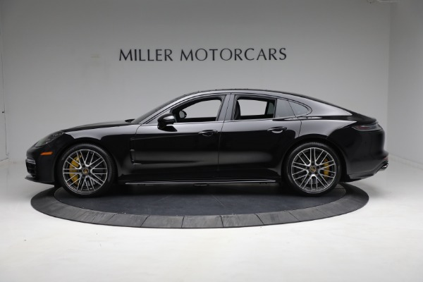 Used 2021 Porsche Panamera Turbo S for sale Call for price at Pagani of Greenwich in Greenwich CT 06830 2