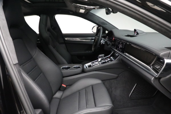 Used 2021 Porsche Panamera Turbo S for sale Call for price at Pagani of Greenwich in Greenwich CT 06830 27