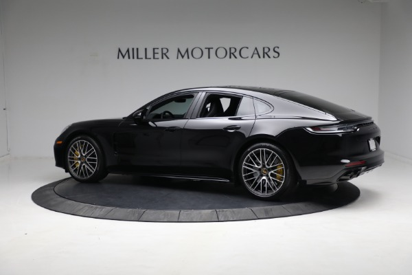 Used 2021 Porsche Panamera Turbo S for sale Call for price at Pagani of Greenwich in Greenwich CT 06830 3