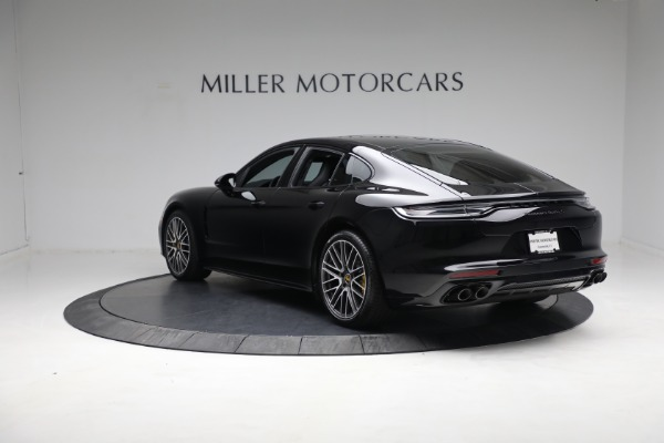 Used 2021 Porsche Panamera Turbo S for sale Call for price at Pagani of Greenwich in Greenwich CT 06830 4
