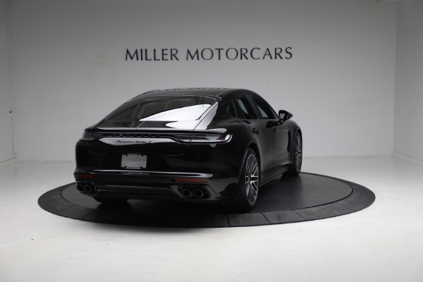 Used 2021 Porsche Panamera Turbo S for sale Call for price at Pagani of Greenwich in Greenwich CT 06830 6