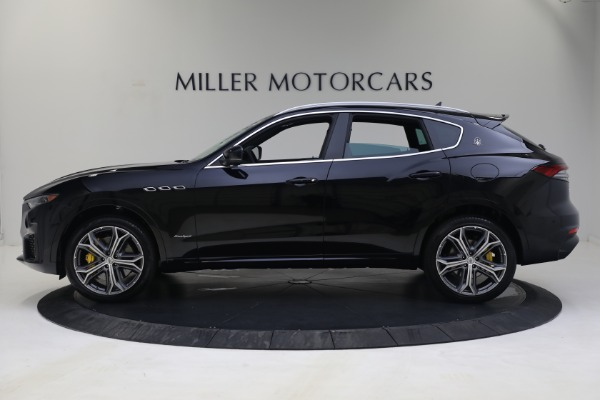 New 2021 Maserati Levante S GranSport for sale Call for price at Pagani of Greenwich in Greenwich CT 06830 3