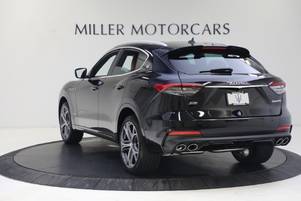 New 2021 Maserati Levante S GranSport for sale Call for price at Pagani of Greenwich in Greenwich CT 06830 5