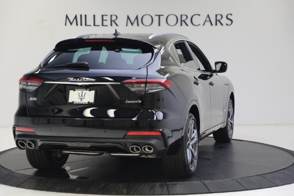 New 2021 Maserati Levante S GranSport for sale Call for price at Pagani of Greenwich in Greenwich CT 06830 7