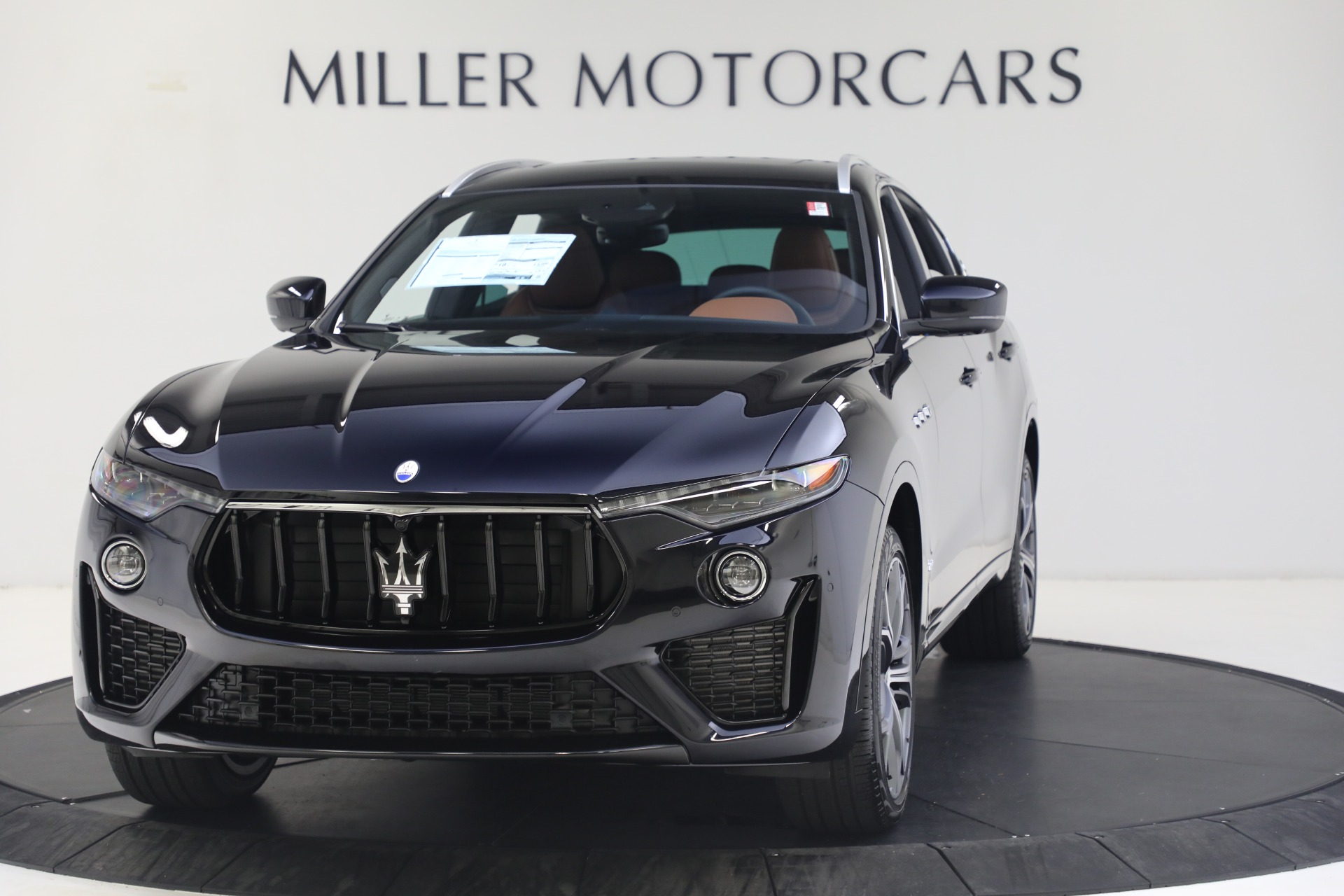 New 2021 Maserati Levante S GranSport for sale Call for price at Pagani of Greenwich in Greenwich CT 06830 1