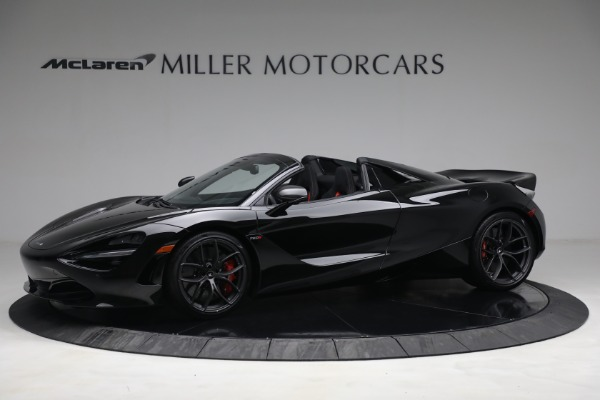 New 2021 McLaren 720S Spider for sale $374,120 at Pagani of Greenwich in Greenwich CT 06830 2