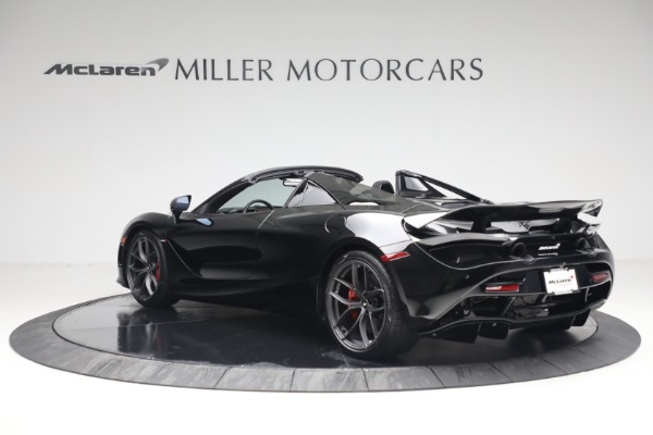 New 2021 McLaren 720S Spider for sale $374,120 at Pagani of Greenwich in Greenwich CT 06830 4