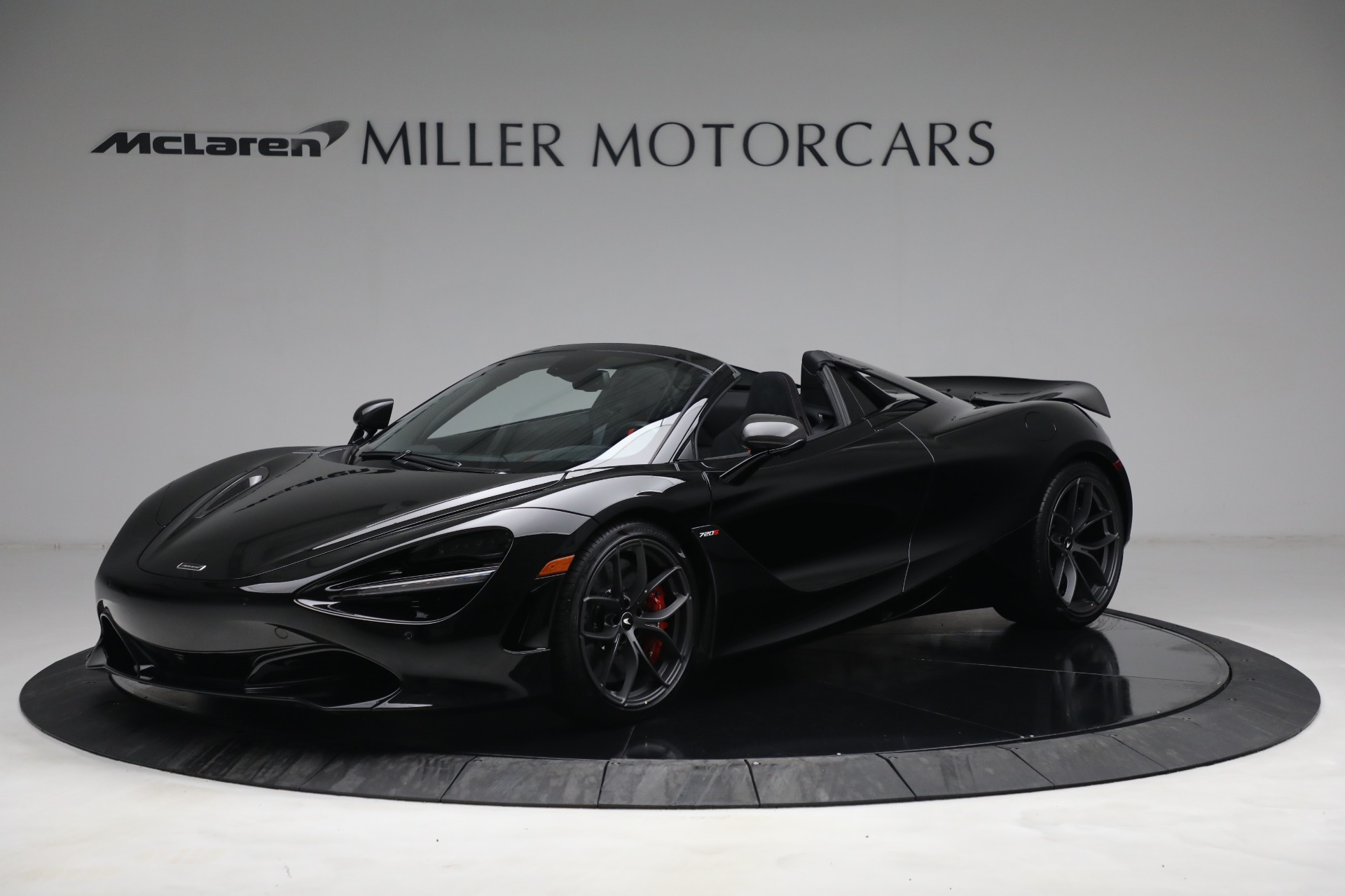 New 2021 McLaren 720S Spider for sale $374,120 at Pagani of Greenwich in Greenwich CT 06830 1