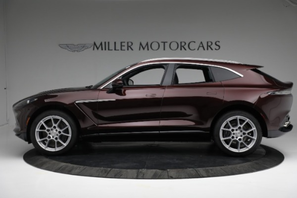 New 2021 Aston Martin DBX for sale $196,386 at Pagani of Greenwich in Greenwich CT 06830 2