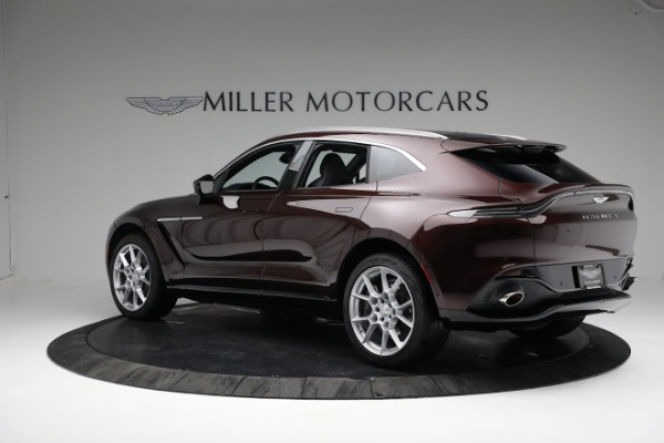 New 2021 Aston Martin DBX for sale $196,386 at Pagani of Greenwich in Greenwich CT 06830 3