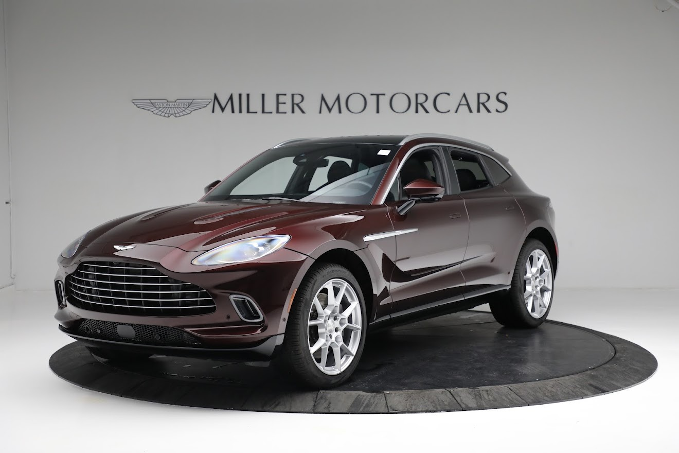 New 2021 Aston Martin DBX for sale $196,386 at Pagani of Greenwich in Greenwich CT 06830 1