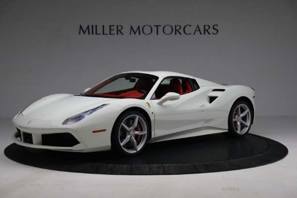 Used 2017 Ferrari 488 Spider for sale Call for price at Pagani of Greenwich in Greenwich CT 06830 14
