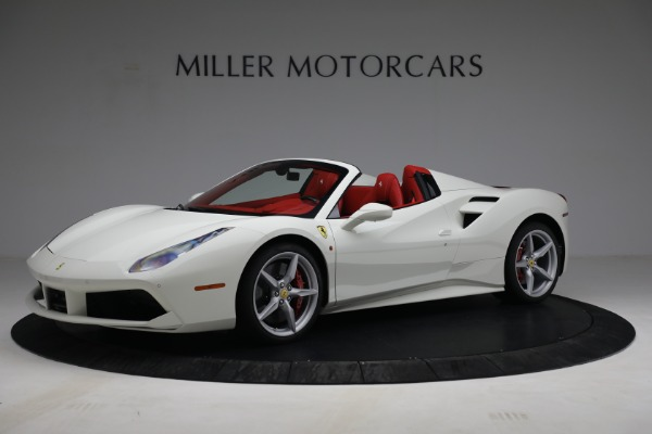 Used 2017 Ferrari 488 Spider for sale Call for price at Pagani of Greenwich in Greenwich CT 06830 2