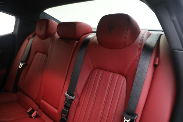 New 2021 Maserati Ghibli SQ4 GranLusso for sale Sold at Pagani of Greenwich in Greenwich CT 06830 18