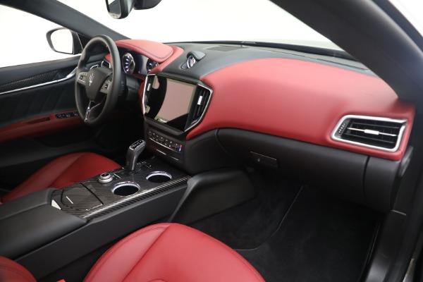 New 2021 Maserati Ghibli SQ4 GranLusso for sale Sold at Pagani of Greenwich in Greenwich CT 06830 21