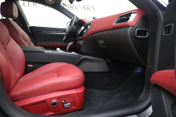 New 2021 Maserati Ghibli SQ4 GranLusso for sale Sold at Pagani of Greenwich in Greenwich CT 06830 22